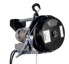 Minifor Elektro-Seilzug Version mit Wickler und Funkfernsteuerung 42839