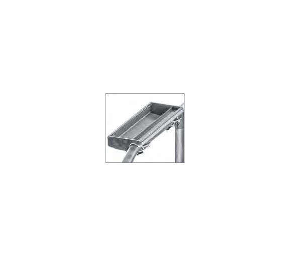 Fahrbare Podestleiter, einseitig begehbar Ablageschale 41967