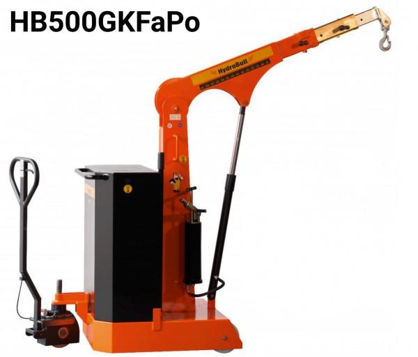 Gegengewichtskran mit Fahrpositionierer HB-GKFaPo