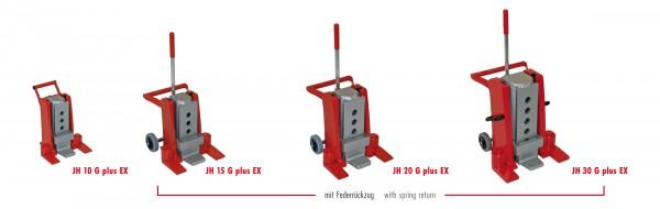 Hydraulische Hebegeräte JH-G plus EX