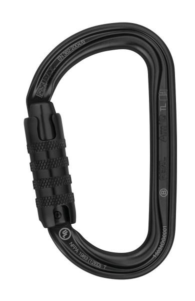 Asymmetrischer Karabiner Am´D TRIACT-LOCK schwarz