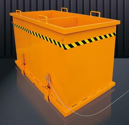 Abfall-Klappbodenbehälter 2036