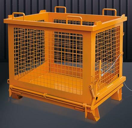 Gitterbehälter mit Klappboden 2037