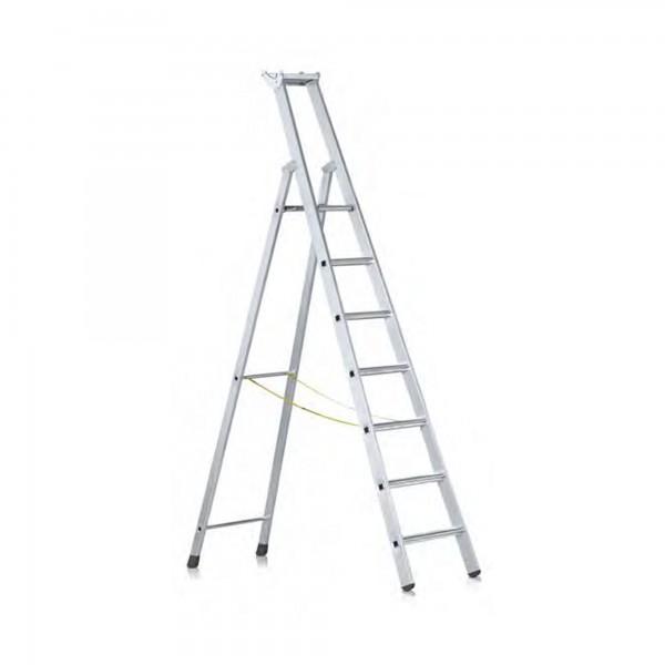 Stufen-Stehleiter einseitig begehbar 41594