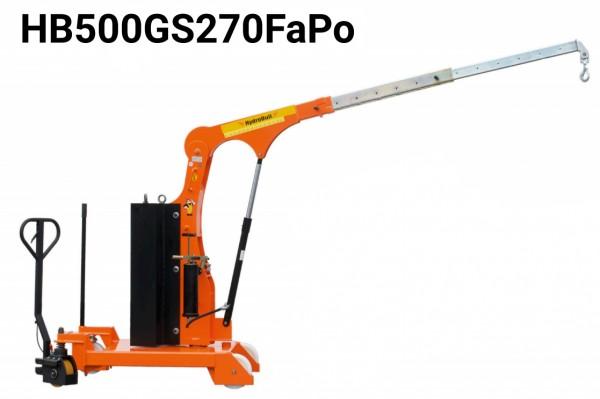 Gegengewichtskran HB-GSFaPo