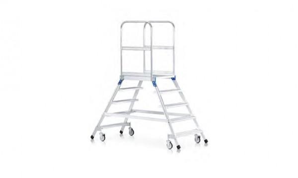 Fahrbare Podesttreppe, beidseitig begehbar 41983